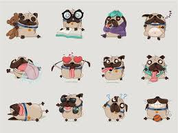 Pugs By Andra Popovici On Dribbble