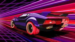 wallpaper 4k retro racing muscle car 4k