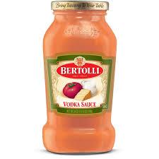 creamy vodka pasta sauce bertolli