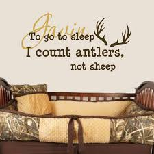 Shop All Decals Kids Name Initial Wall Decal Personalized To Go To Sleep I Count Antlers Not Sheep Wall Decal