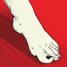 black toenails treatment and