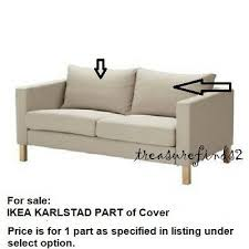 part ikea karlstad loveseat sofa cover