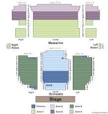 seating chart neil simon theater