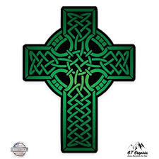 Gt Graphics Green Celtic Cross Vinyl Sticker Waterproof Decal Buy Products Online With Ubuy Sri Lanka In Affordable Prices B073nr7ddh