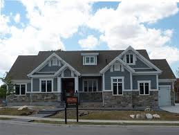 craftsman style home exterior paint