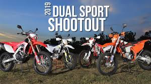 2019 dual sport shootout dirt bike