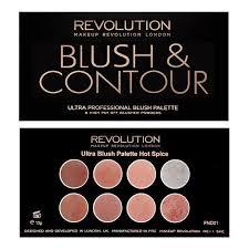 revolution ultra blush palette hot
