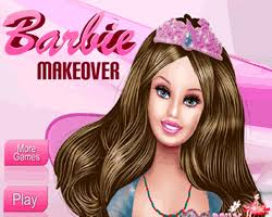 play free barbie makeover
