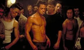 brad pitt fight club body here are