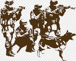 Logo Wall Decal Firearm Soldier Brown Dog Soldiers Brown People Usa Png Pngwing
