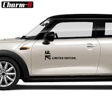 2pcs Car Styling Door Side Sticker Limited Edition Uk Flag Decal Stickers For Mini Cooper R56 R50 F56 R53 R55 R60 Accessories Buy At The Price Of 8 63 In Aliexpress Com