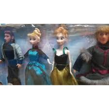 Bộ Sưu Tập Búp Bê Disney 2 Công Chúa Và 2 Hoàng Tử