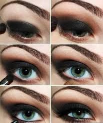 easy makeup tutorials for blue eyes