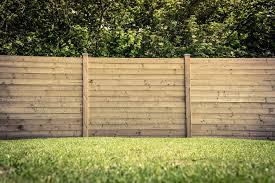 timber fence panels perfect privacy