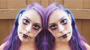 twisted doll makeup tutorial you