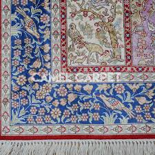 silk turkish handmade hereke carpet