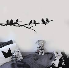 Flock Of Birds Wall Decal Set Removable Stickers Wall Decor Art Mural Nature
