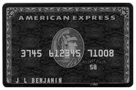 the american express black card