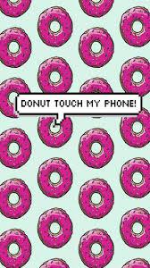 background donut dount locked m