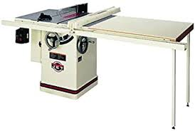 Jet 708663pk Jtas 10xl50 W1 10 Inch Left Tilt 3 Horsepower 10 Inch Cabinet Saw With 50 Inch Xacta Ii Fence 2 Cast Iron Extension Wings Table Board And Legs 230 Volt 1 Phase Power Table Saws Amazon Com