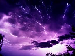 lightning wallpaper landscape nature