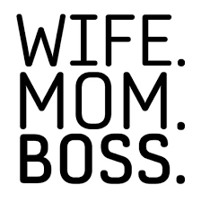 Mom Sticker M1030 Wife Mom Boss Vinyl Sticker Cup Decal