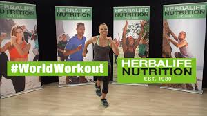 herbalife world record workout routine