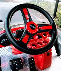 Golf Cart Ideas For A Steering Wheel Upgrade Custom Golf Golf Cart Accessories Golf Carts