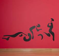 Triathlon Silhouettes Wall Sticker Tenstickers