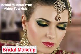 bridal makeup tutorials videos for
