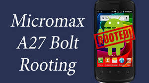How to Root Micromax A27 Bolt (Easy ...