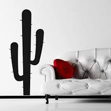 Cactus Wall Sticker Decal World Of Wall Stickers