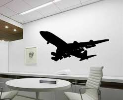 Boeing 747 Heavy Jet Vinyl Wall Decal Office Wall Decor Home Etsy