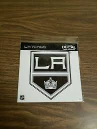 Los Angeles Kings Nhl Decal Sticker Car Truck Window Bumper Laptop Wall
