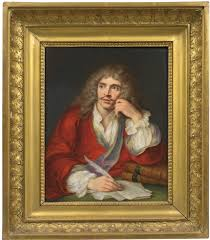 Portrait de Molière after Sébastien Bourdon by Aimee Perlet on artnet