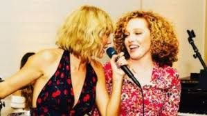 Taylor Swift makes rare appearance to share in friend Abigail ...