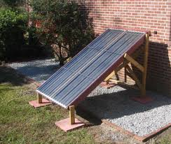 a simple diy thermosyphon solar water