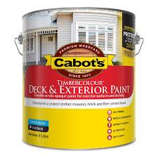 cabot s 4l white timbercolour deck