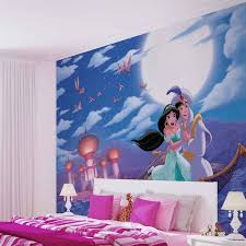 Disney Princesses Jasmine Aladdin Wall Paper Mural Buy At Abposters Com