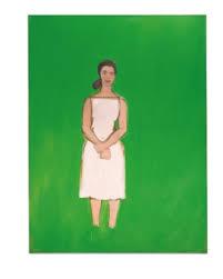 Alex Katz (b. 1927) | Ada with White Dress | Paintings | Christie's