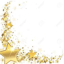 32608342 Frame Gold Stars On A White Background Stock Vector Jpg