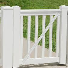 Durables 3 X 6 Harrington Vinyl Railing Straight Section With Top Rail Aluminum Insert White Wwr T36 S6