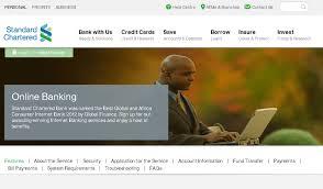 Standard Chartered Bank Ghana Internet Banking - Stanchart Online Banking  Guide