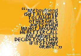 a collection of sweet funny and cute boyfriend quotes images