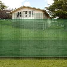 Shop Vidaxl 3 3 X 16 4 Fence Windscreen Privacy Mesh Screen Net Green Free Shipping On Orders Over 45 Overstock 18965163