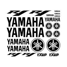Kit Yamaha R Vinyl Decal Sticker Vinyl Decals Yamaha Vinyl Decal Stickers