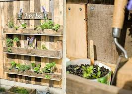 Diy Pallet Wood Herb Garden Recycled Pallet Ideas Shelves Garden Fence Herb Garden Pallet Garden Shelves Diy Herb Garden