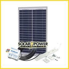 30 Watt Solar Gate Charging Kit Solar Power Items