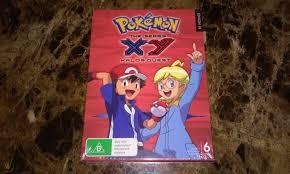 Pokemon The Series XY Kalos Quest Season 18 Region 4 DVD