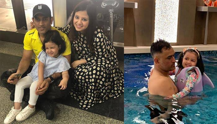 """Image result for Ms Dhoni and Ziva"""""""